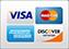 Bild mit Kreditkarten(Visa,Mastercard,Amex,Discovery)